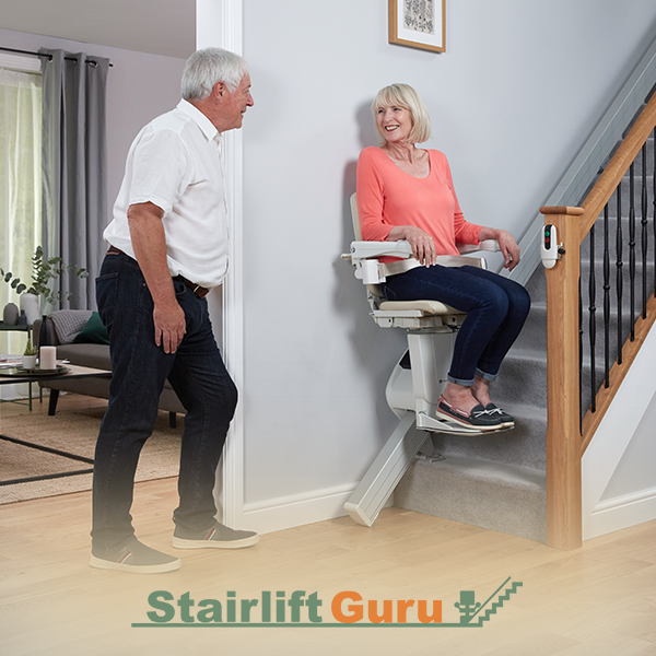 How do Straight Stairlifts Operate